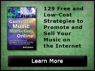 Guerrilla Music Marketing Online
