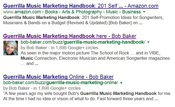 Google Authorship for Musicians