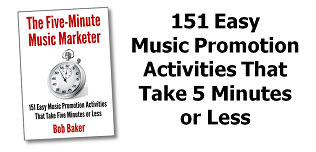 The Five-Minute Music Marketer book
