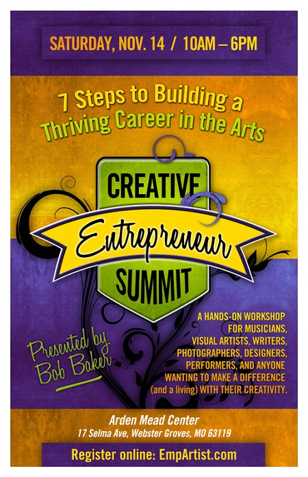 Bob Baker workshop - Creative Entrepreneur Summit