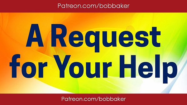 Request for Your Help Patreon