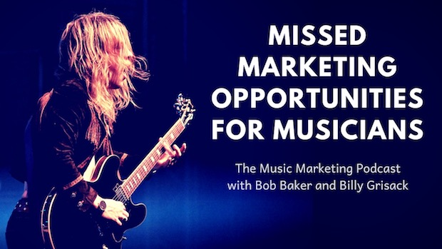 Missed Marketing Opportunities for Musicians