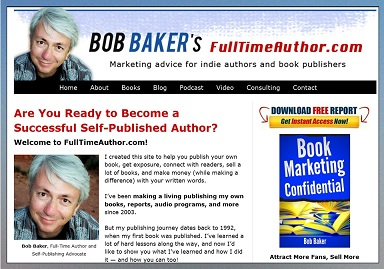 full time author bob baker